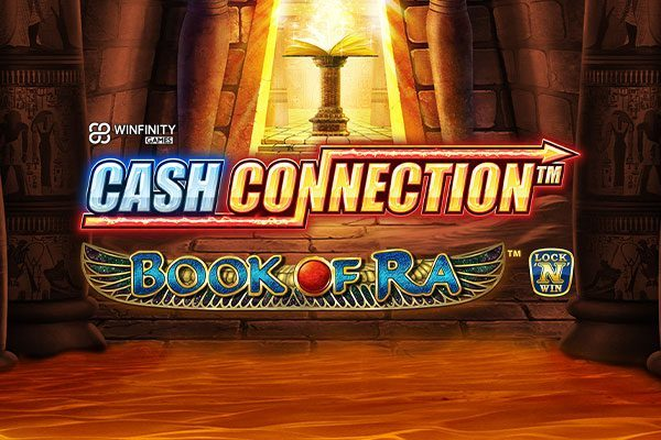 Greentube's latest release combines Cash Connection jackpots with Book of Ra!