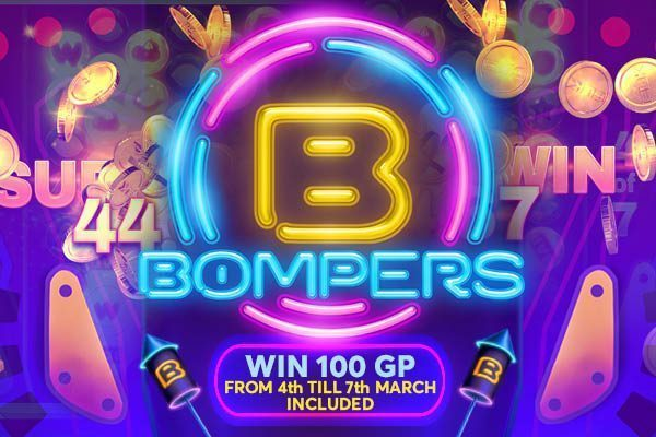 Buy bonus: try it on Bompers and other games!