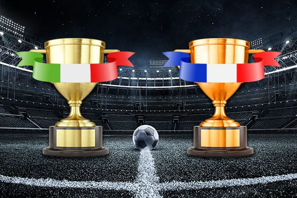 Cup finals in Italy and France