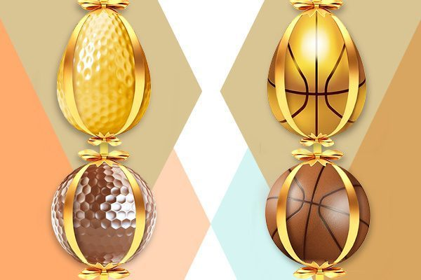 Win Golden Points by betting on golf and basketball!