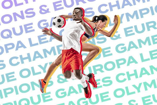 Bet on Belgium in the Champions League, Conference League and Olympic athletics!