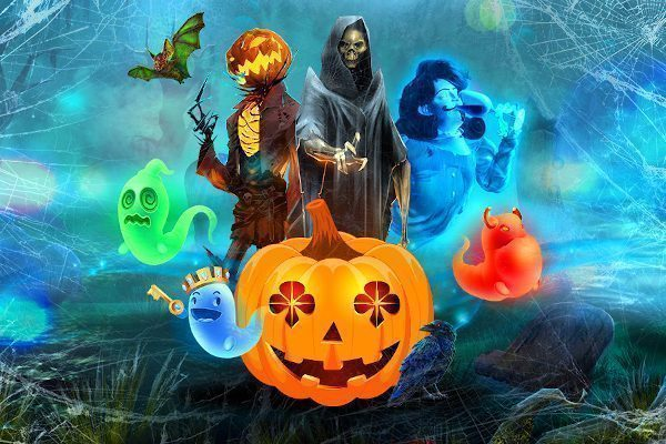 Ghostly games for Golden Halloween!