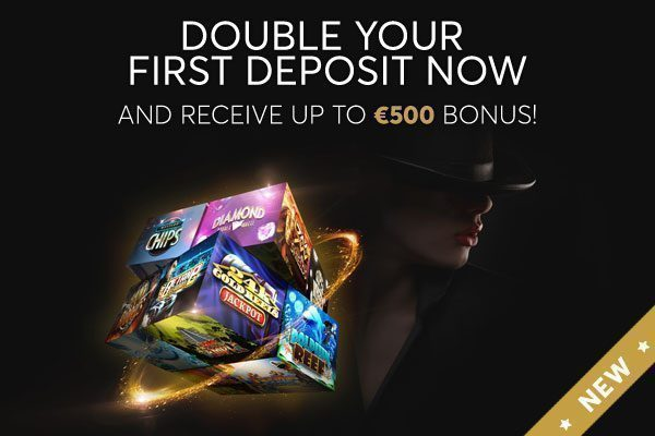 Welcome Bonus: 100% up to €500