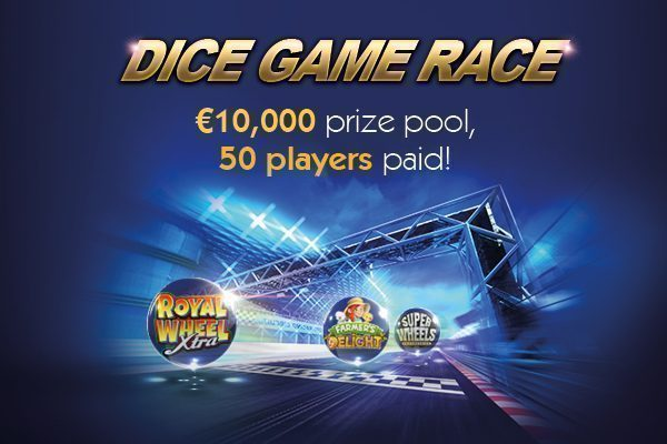 €10,000 Dice Game Race