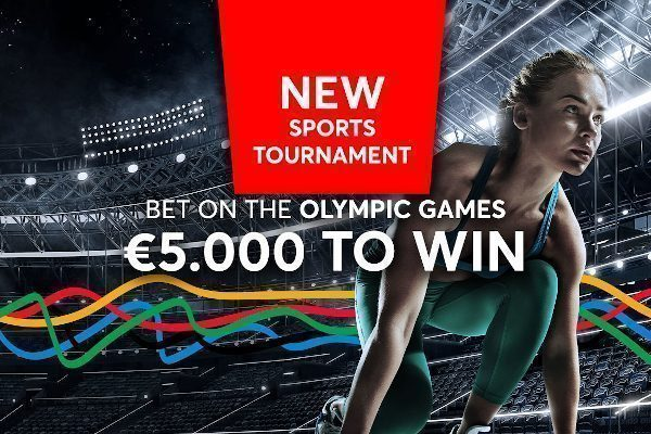 Olympic Games   €5,000 to win by betting on the Olympic Games!